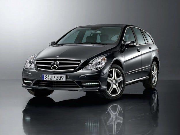 Mercedes R-Class Grand Edition
