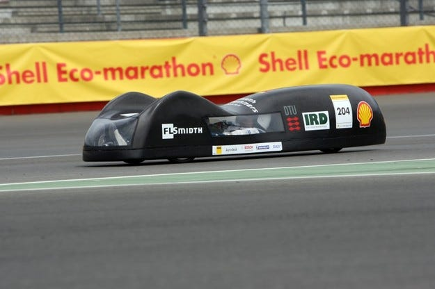 Shell Eco-marathon Европа 2009