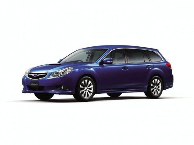 Suparu Legacy Touring Wagon