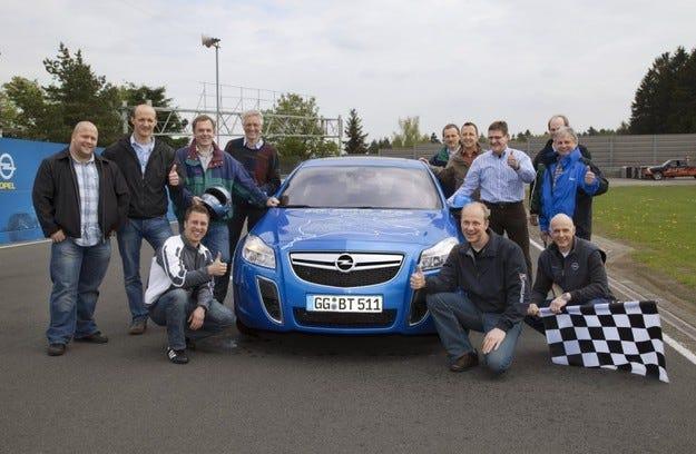Opel Insignia OPC 10 000 км