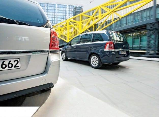 Opel Zafira 1.6 CNG Turbo и 1.7 CDTi