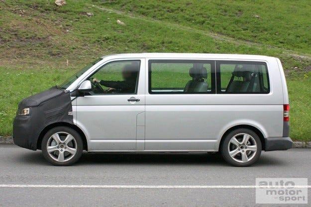 VW Transporter/Multivan T5 фейслифт