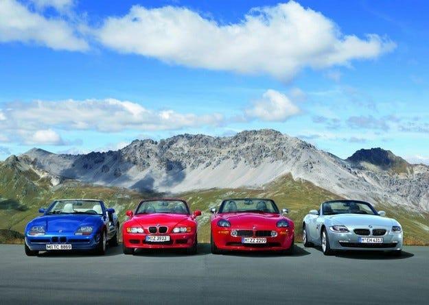 BMW 75 години роудстъри