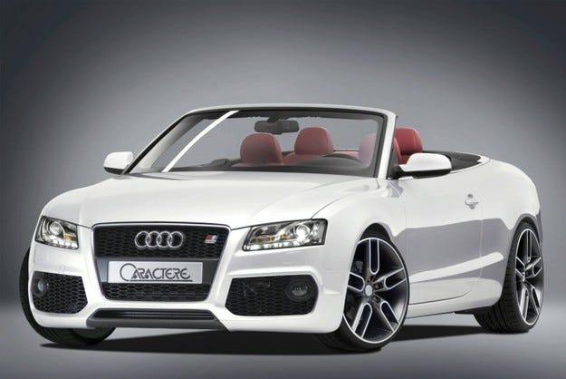Caractere Audi A5 Cabrio