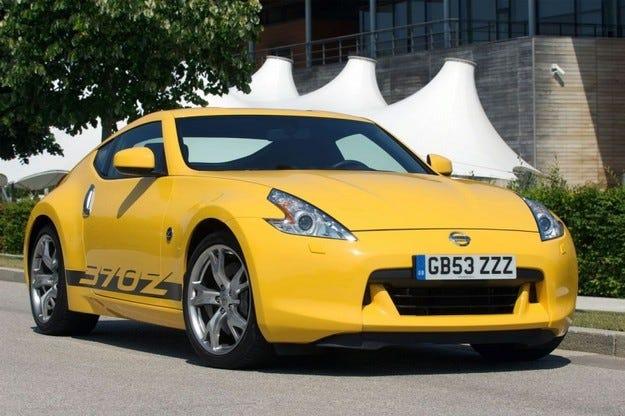 Nissan 370Z Yellow
