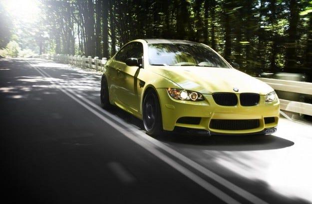 BMW M3 Dakar Yellow