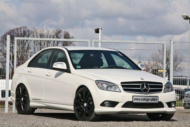 Mercedes-Benz C200 CDI White Series