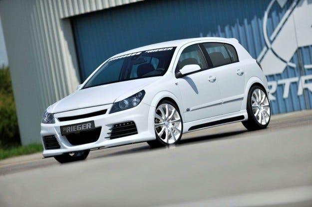 Rieger Opel Astra и Corsa