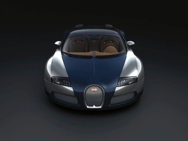 Bugatti Grand Sport Sang Blue