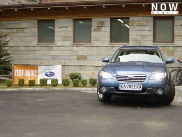 Subaru Open Test Drive