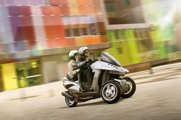 Peugeot HYbrid3 Evolution Concept