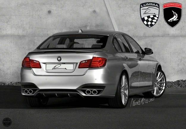 TopCar Cardi Lumma Design BMW 5