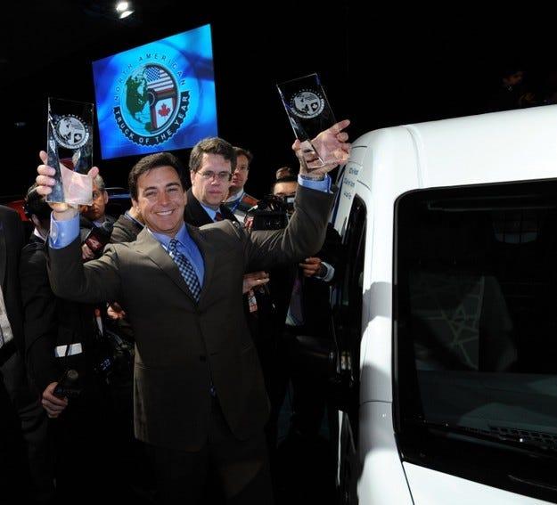 Ford Автомобил на годината
