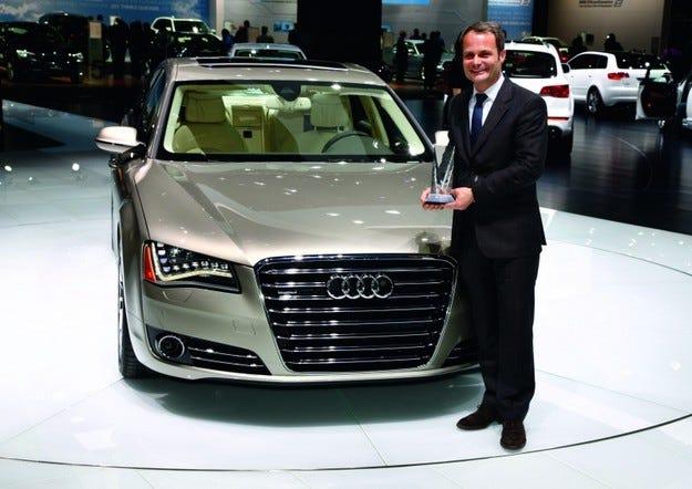 Награди за Audi