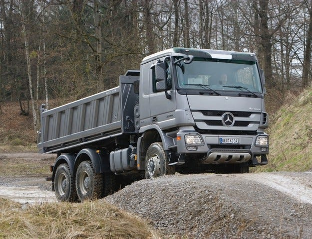 Mercedes Actros Powershift