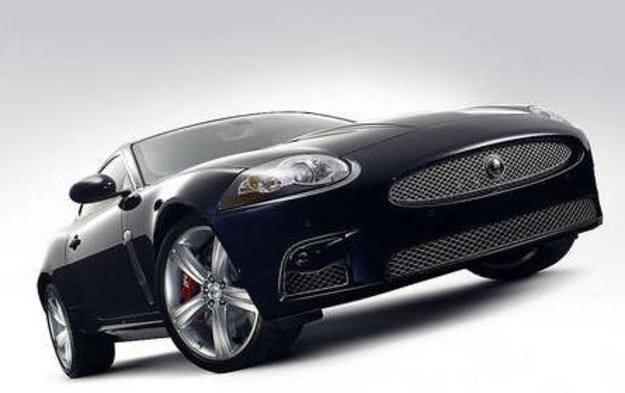 Jaguar XKR: Специален пакет