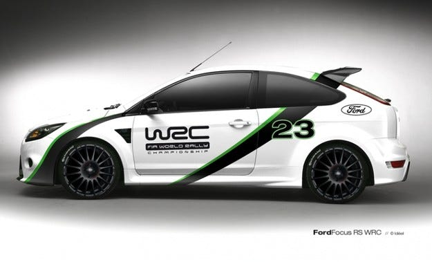 Focus RS WRC Edition
