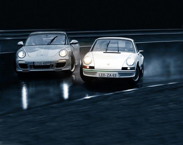 Porsche 911 Carrera RS 2.7 срещу 911 Sport Classic