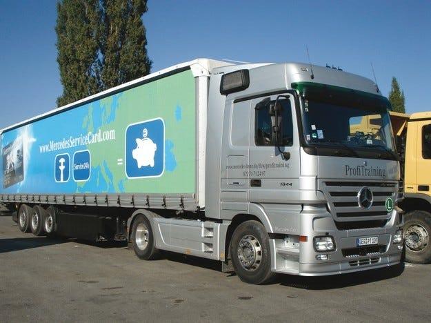 Икономично шофиране Mercedes-Benz