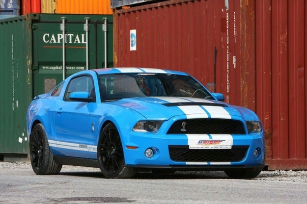 GeigerCars Mustang Shelby GT500