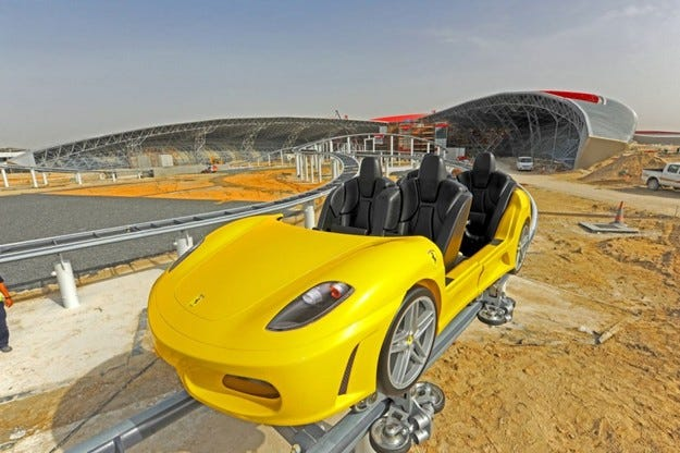 Влакчето на Ferrari World