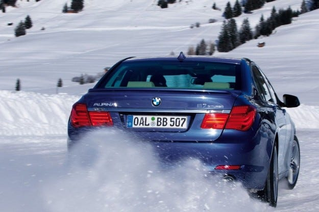 BMW Alpina B7 Bi-Turbo Allrad