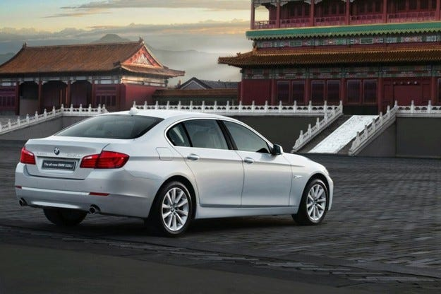 Long-Wheelbase BMW 5