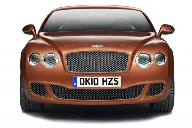 Bentley Continental Design Series China