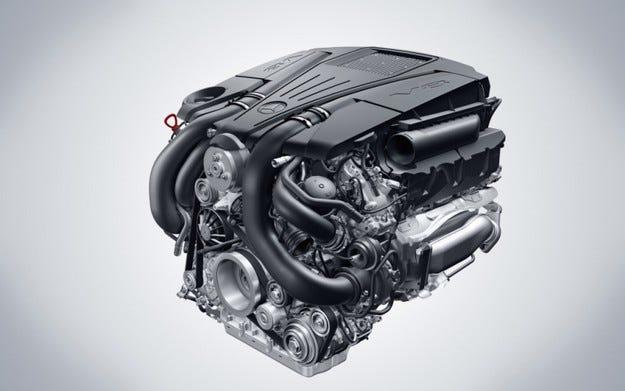 Нови V6 и V8 Mercedes-Benz