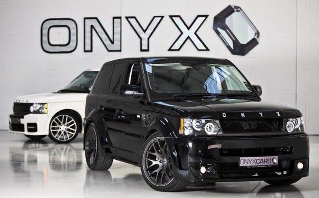 Range Rover Sport & Vogue Onyx Concept Platinum S/V