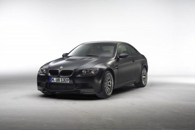BMW M3 Frozen Black Matte Paint