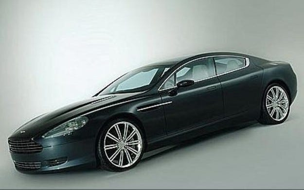 Aston Martin: Rapide