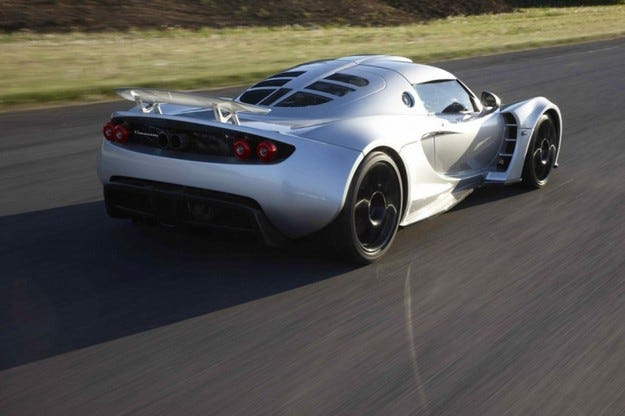 Hennessey Venom GT шаси 01
