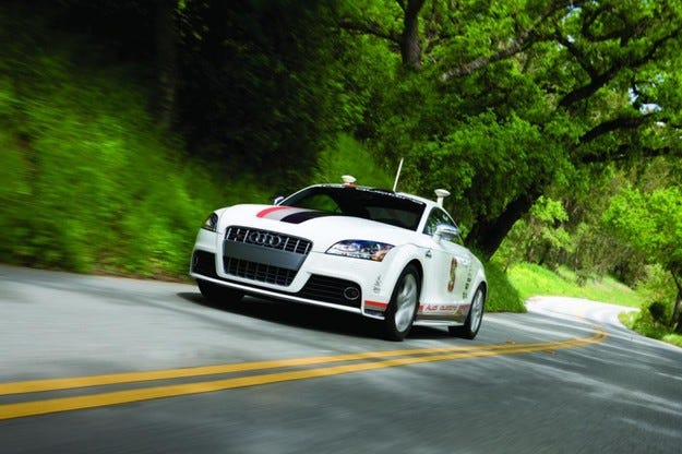 Audi TTS Pikes Peak Shelley