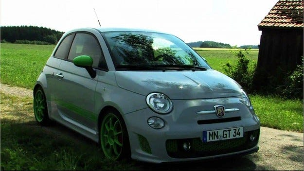 G-Tech Abarth 500 RS-S