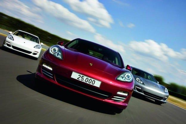 25 000-ият Porsche Panamera