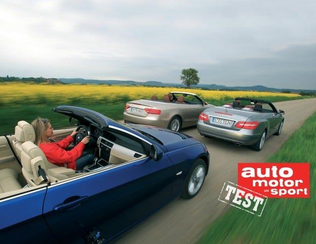 Audi A5 Cabrio, BMW 335i Cabrio, Mercedes E350 Cabrio