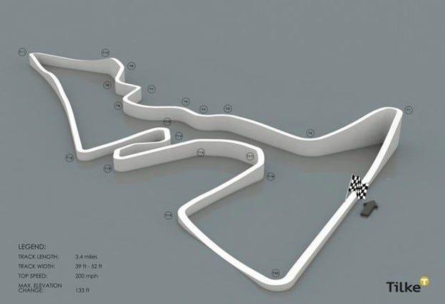 Проектът за Формула 1 в Остин, САЩ