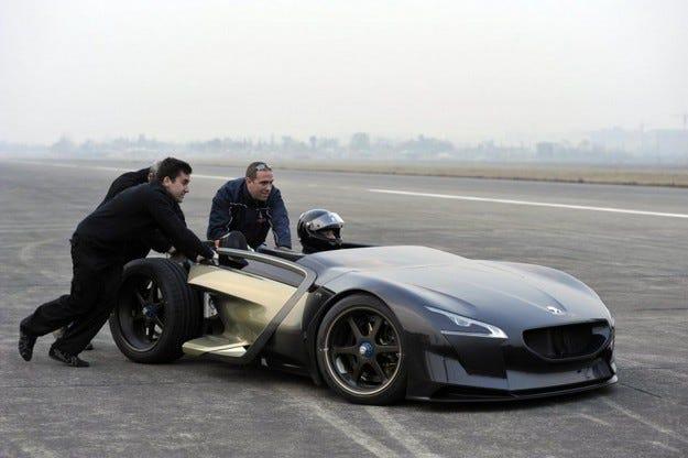 Peugeot EX1 Китай