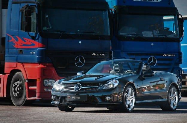 Vilner Mercedes SL 63 AMG Shadow line