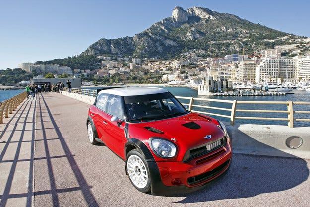 MINI WRC Монте Карло