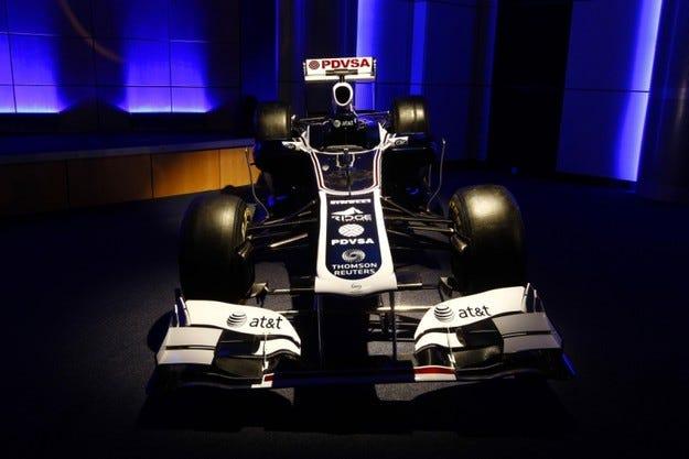 Williams FW33 ливъри