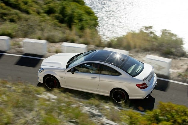 Mercedes C 63 AMG Coupe