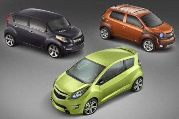 Chevrolet Beat, Groove & Trax