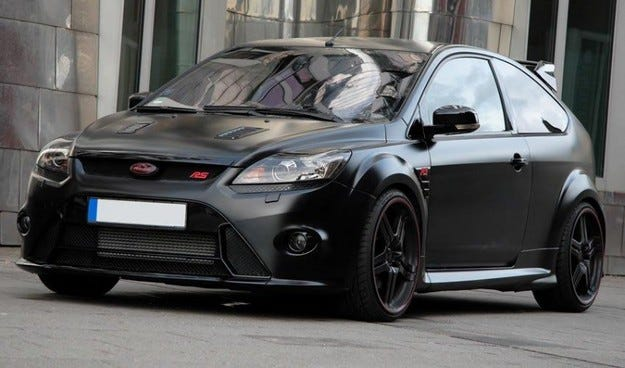 ANDERSON Ford Focus RS Black Racing Edition
