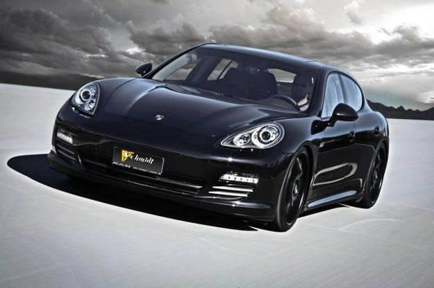Rennsport Muller Porsche Panamera