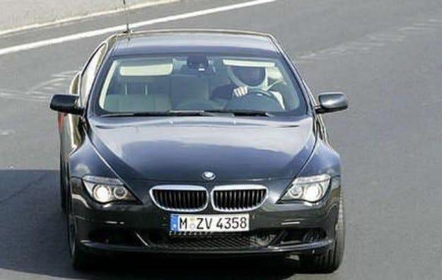 BMW шеста серия фейслифт