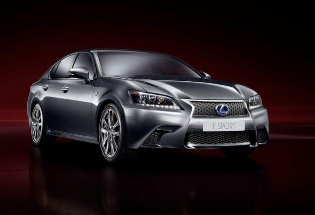 Lexus GS 450h и F Sport