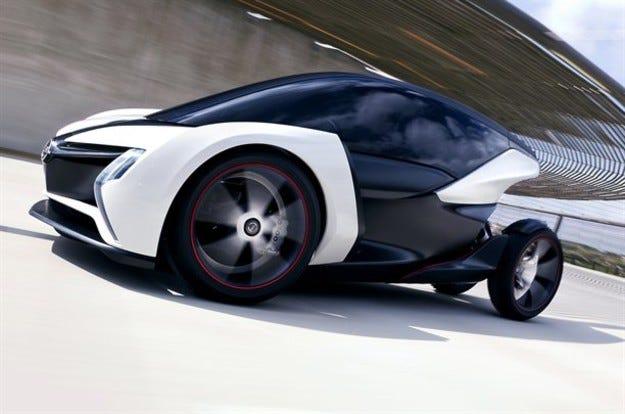 Opel градски прототип