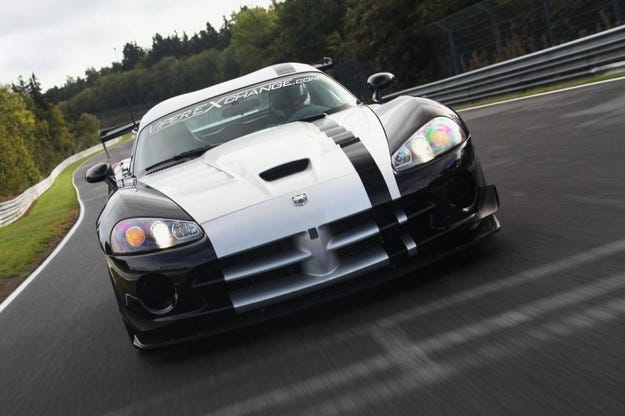 Dodge Viper SRT10 ACR на Нордшлайфе